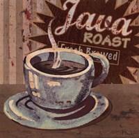 Framed Coffee Brew Sign II - petite