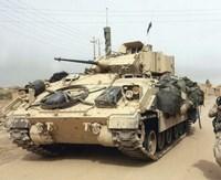 Framed M2 Bradley Infantry Fighting Vehicle United States Army