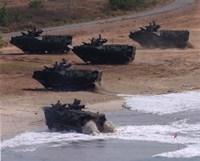 Framed Assault Amphibious Vehicles (AAV) United States Marine Corps