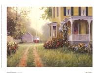 Framed American Homestead