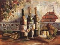 Framed Bountiful Wine I