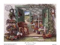 Framed Blossom Shoppe
