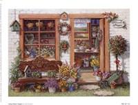 Framed Fancy Flower Shoppe
