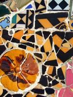 Framed Mosaic Fragments IV