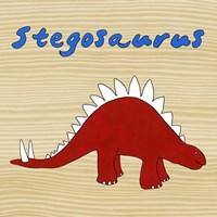 Framed Stegosaurus