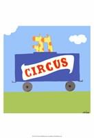 Framed Circus Train II