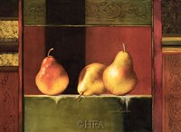 Framed Pears, Deco IV