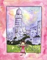 Framed Girl in Israel