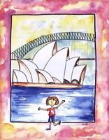 Framed Girl In Sydney
