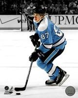Framed Sidney Crosby 2010-011 Spotlight Action