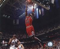 Framed Michael Jordan 1996-97 Action