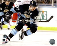 Framed Sidney Crosby 2011 NHL Winter Classic Action