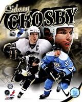 Framed Sidney Crosby 2011 Portrait Plus