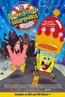 Framed SpongeBob SquarePants Movie Cartoon