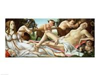 Framed Venus and Mars, c.1485