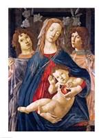 Framed Virgin of the Pomegranate