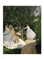 Framed Women in the Garden, 1867