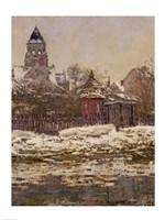 Framed Church at Vetheuil, 1879
