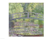 Framed Waterlily Pond: Green Harmony, 1899