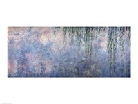 Framed Waterlilies: Morning with Weeping Willows, detail of central section, 1914-18