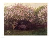 Framed Lilacs, Grey Weather, c.1872-73