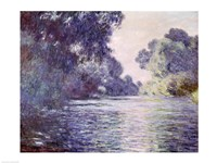 Framed Branch of the Seine near Giverny, 1897 detail