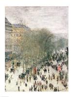 Framed Boulevard des Capucines, 1873-4