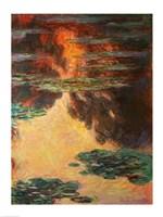 Framed Waterlilies, detail, 1907