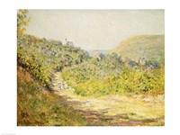 Framed Aux Petites Dalles, 1884