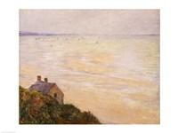 Framed Hut at Trouville, Low Tide, 1881