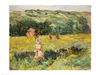 Framed Limetz Meadow, 1887