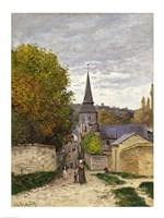 Framed Street in Sainte-Adresse, 1868-70