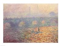 Framed Waterloo Bridge, 1900