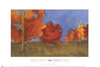 Framed Summer's Fall I