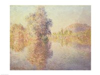 Framed Morning on the Seine at Giverny, 1893