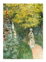 Framed Rose Garden, 1876