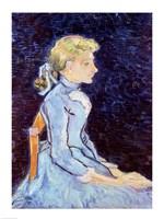 Framed Adeline Ravoux, 1890