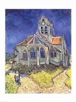 Framed Church at Auvers-sur-Oise, 1890