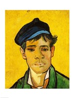 Framed Young Man with a Hat, 1888