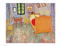 Framed Van Gogh's Bedroom at Arles, 1889