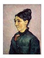 Framed Portrait of Madame Jeanne Lafuye Trabuc, 1889