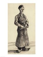 Framed Blacksmith's Boy, 1882