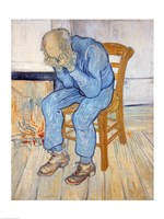 Framed Old Man in Sorrow