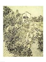 Framed Garden of Flowers, 1888