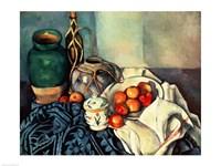 Framed Still Life with Apples