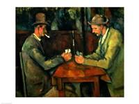 Framed Card Players 1890-95
