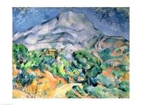 Framed Mont Sainte-Victoire