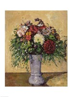 Framed Bouquet of Flowers in a Vase, c.1877