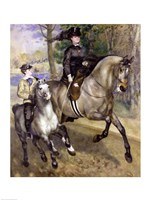 Framed Horsewoman in the Bois de Boulogne, 1873