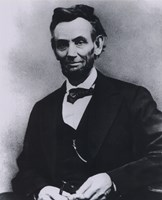 Framed Abraham Lincoln Portrait 1865